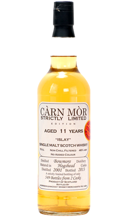Bowmore 11 Year Old 2001 - Strictly Limited