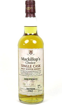 Linlithgow 28 Year Old 1982 Mackillops