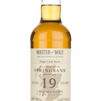 Springbank 19 Year Old Cask 129 - Single Cask