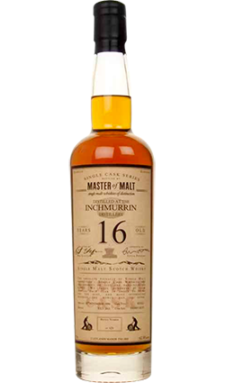 Inchmurrin 16 Year Old Single Cask Master Of Malt