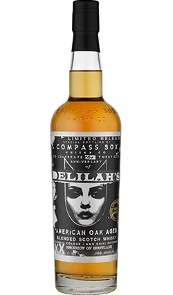 Compass Box Delilahs 20th Anniversary Celebration