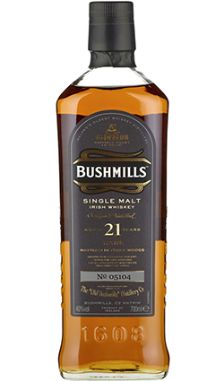 Bushmills 21 Year Old Bottled 2006