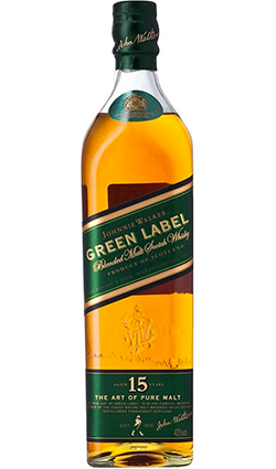 Johnnie Walker Green Label 15 Year Old New Bottling