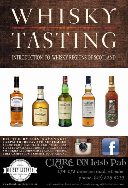 Father's Day, Whisky Tasting