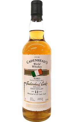 Cadenheads World Whiskies Cooley Distillery 12 Year Old