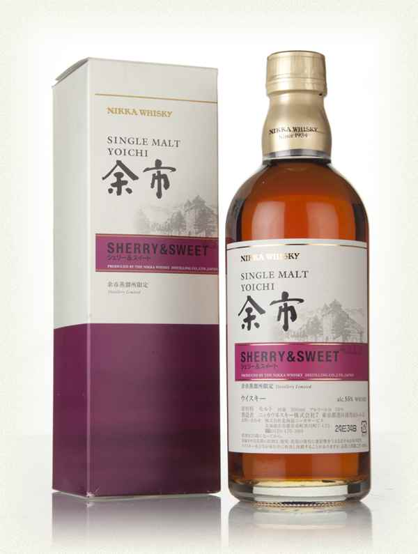 Yoichi Sherry And Sweet Whisky