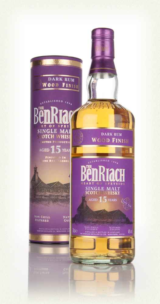 Benriach 15 Year Old Dark Rum Finish Whisky