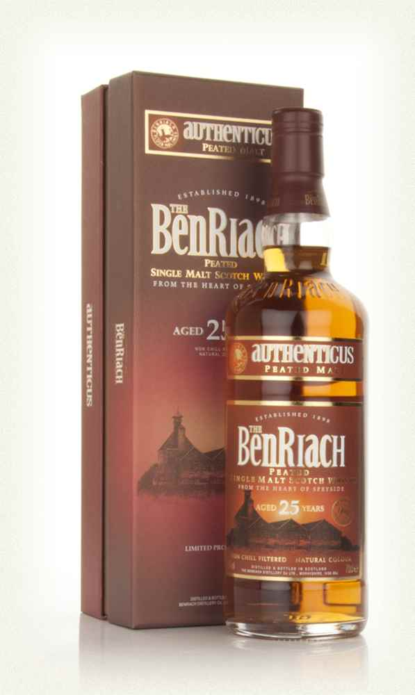 Benriach 25 Year Old Authenticus Peated