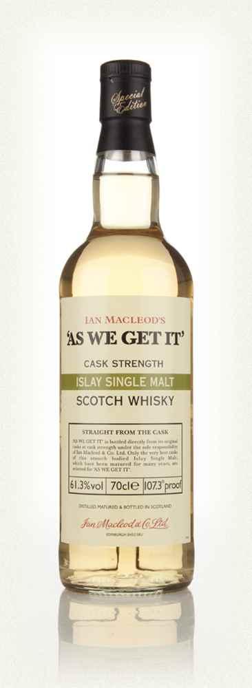 Islay Single Malt As We Get It Ian Macleod 61 Point 3 Percent Whisky