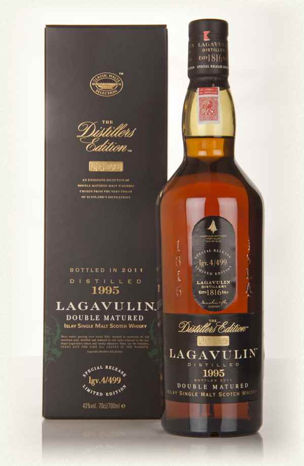 Lagavulin 1995 Bottled 2011 Pedro Ximenez Cask Finish Distillers Edition Whisky