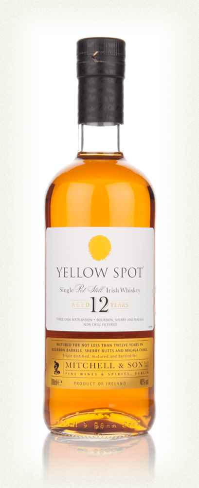 Yellow Spot 12 Year Old Whiskey