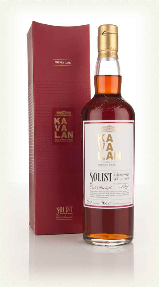 Kavalan Solist Sherry Cask Matured 57 8 Whisky