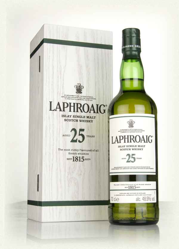 Laphroaig 25 Year Old Whisky